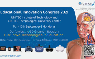 3D Organon at the 2021 Educational Innovation Congress