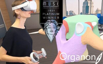 3D Organon is the Platinum winner of the 2021 MUSE AWARDS